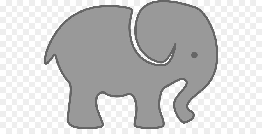 Grey elephant clipart stock Elephant Background png download - 600*444 - Free Transparent ... stock
