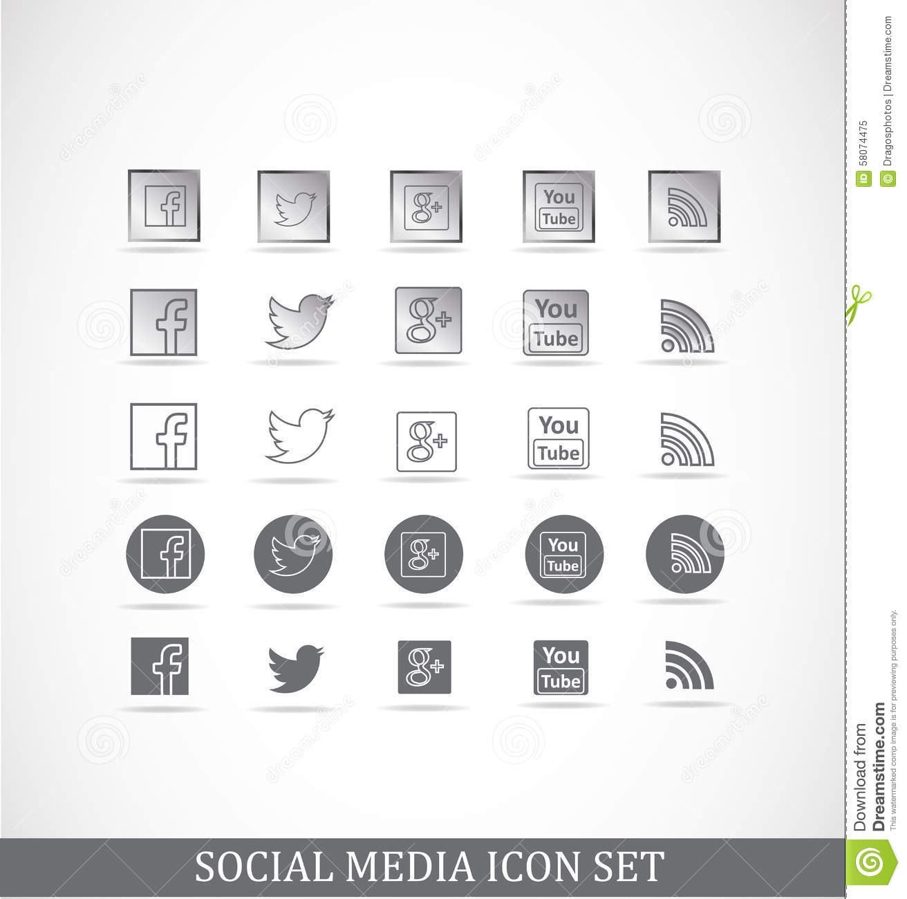 Grey facebook clipart svg free library Grey google phone clipart icon - ClipartFest svg free library