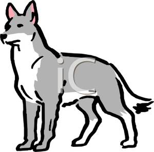 Wolf dog clipart jpg library stock Grey Wolf Clip Art | Clipart Panda - Free Clipart Images jpg library stock