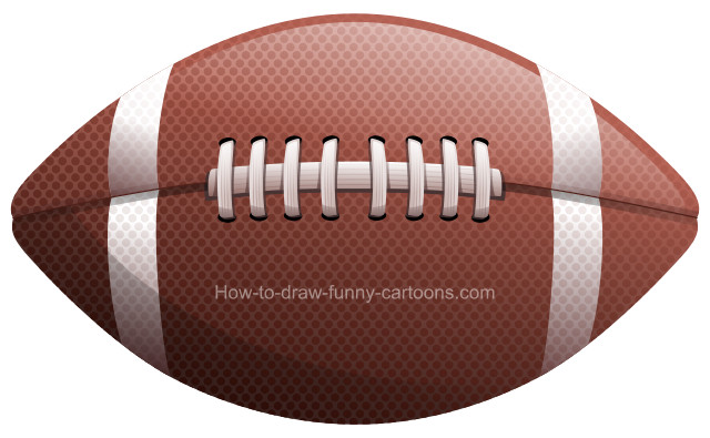 Gridiron clipart vector freeuse download How to draw a football clip art vector freeuse download