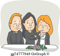 Grieving clipart