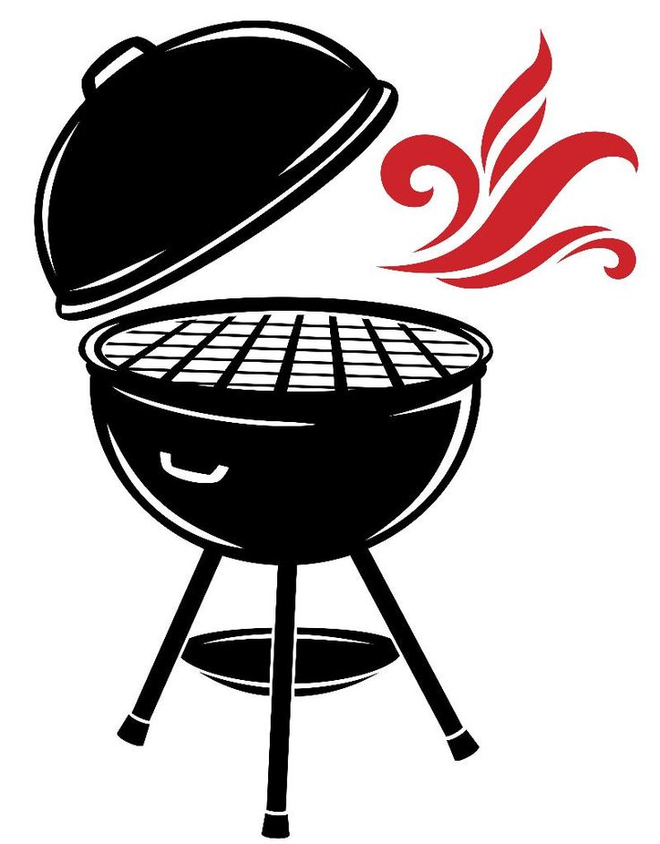 Grill clipart open svg royalty free download Free BBQ Smoker Cliparts, Download Free Clip Art, Free Clip Art on ... svg royalty free download