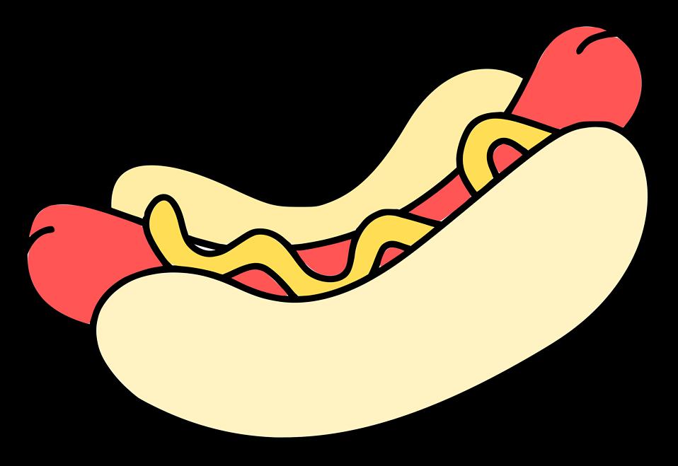 Hot dog grilling clipart image freeuse Hotdog | Free Stock Photo | Illustration of a hotdog | # 16551 image freeuse