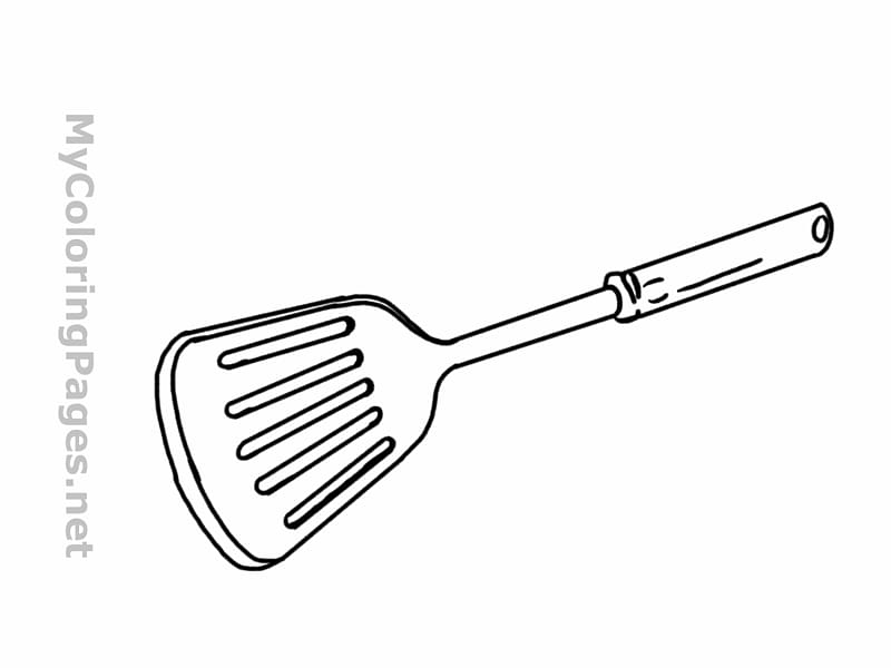 Grill spatula clipart clip transparent stock Barbecue grill Spatula Kitchen utensil Coloring book, Spatula Sketch ... clip transparent stock