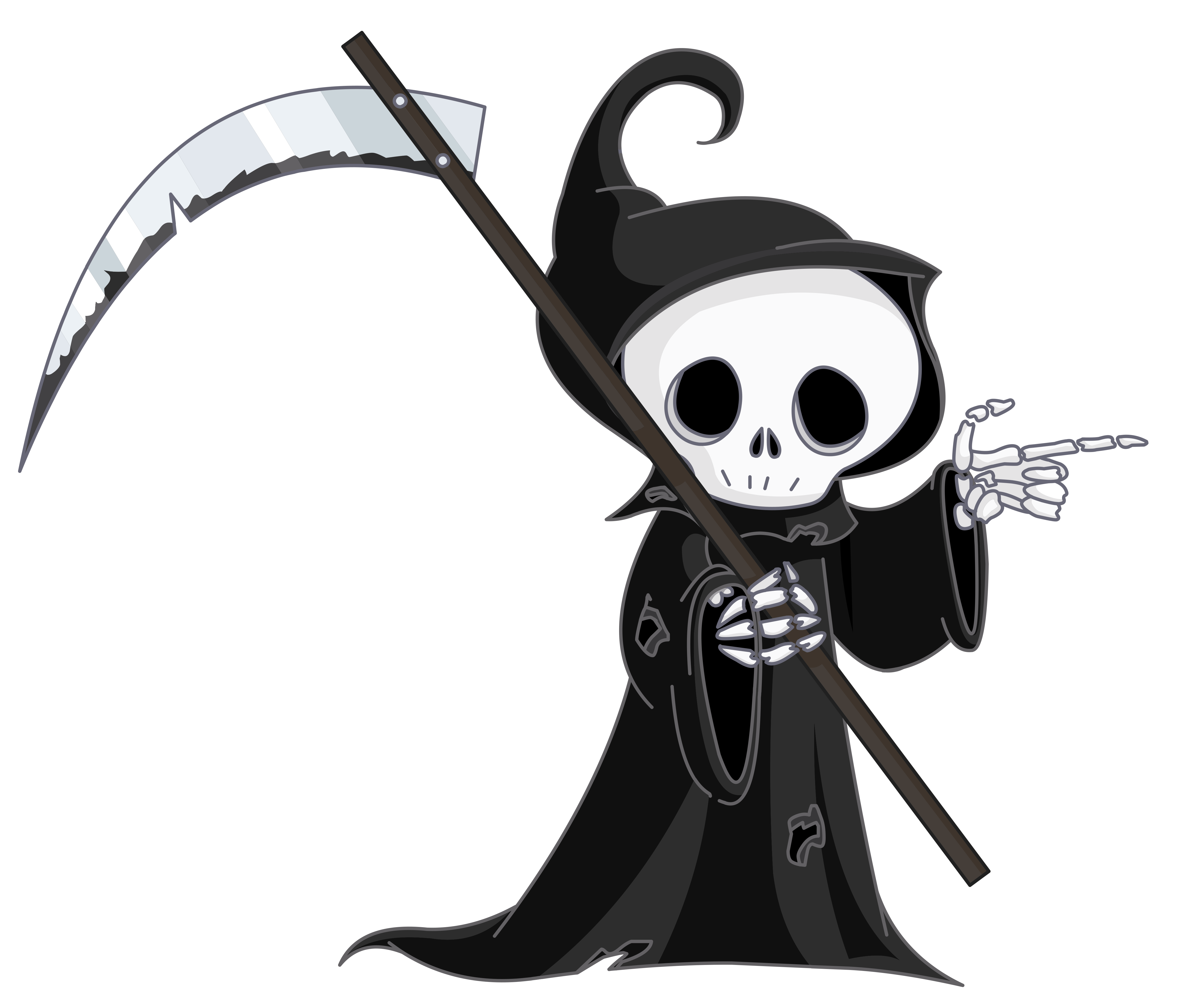Grim clipart banner library Grim Reaper PNG Clipart | Gallery Yopriceville - High-Quality ... banner library