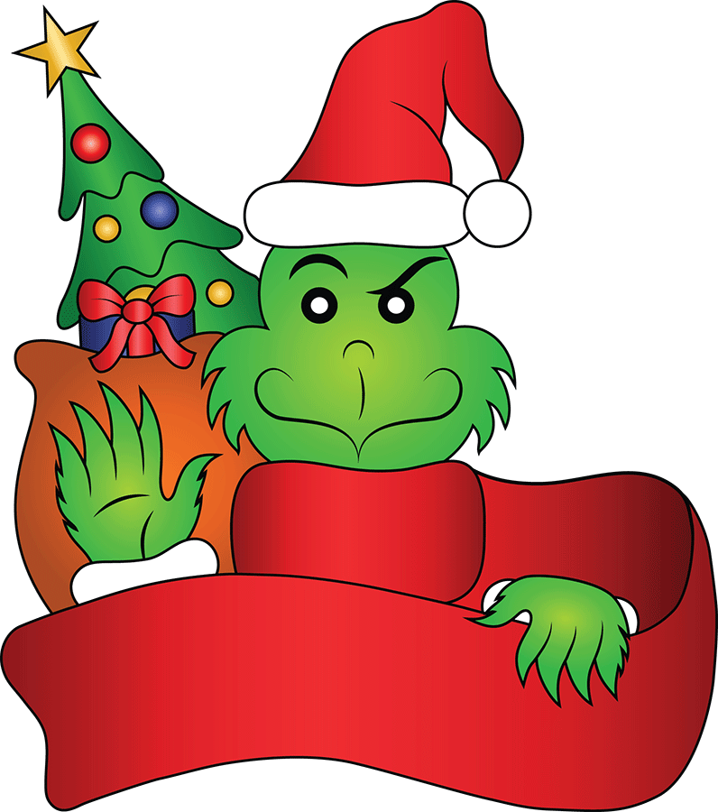 How the grinch stole christmas clipart clip art free library Movie: How the Grinch Stole Christmas - Franklin Local clip art free library