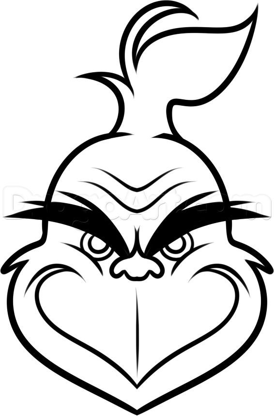 Grinch clipart black white svg Grinch Clipart Black And White (84+ images in Collection) Page 1 svg