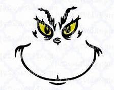 Grinch face clipart graphic transparent Grinch Face Clipart - Clipart Suggest   Cricut crafts ideas   Face ... graphic transparent