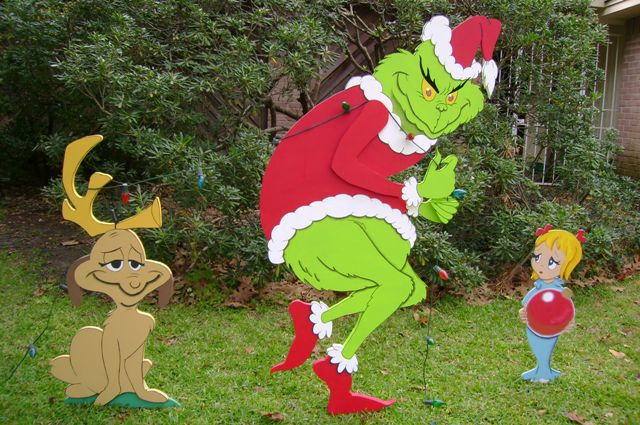 Grinch max dog clipart clip royalty free stock The Grinch Stole Christmas Yard Art - Holiday Yard Art Made by ART ... clip royalty free stock