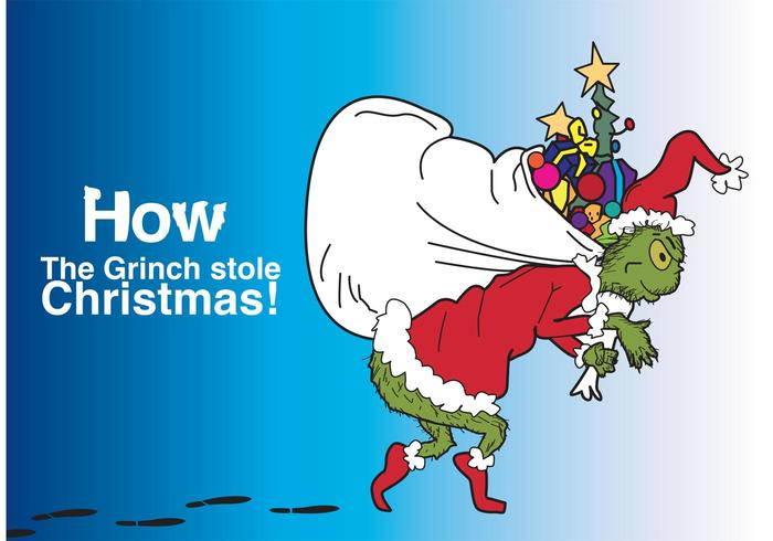 Grinch stealing christmas lights clipart picture royalty free stock How The Grinch Stole Christmas Vector - Download Free Vectors ... picture royalty free stock