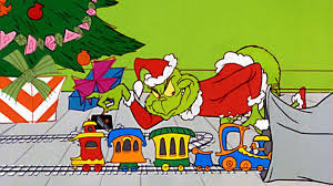 Grinch stealing present cliparts jpg black and white library Don\'t Be So Mean, Grinch!   iheartfilm jpg black and white library