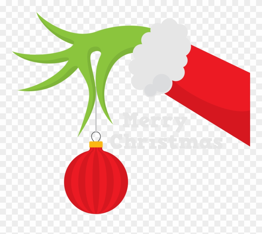 Whoville tree clipart vector freeuse stock How The Grinch Stole Christmas Silhouette Whoville - Grinch Hand Svg ... vector freeuse stock