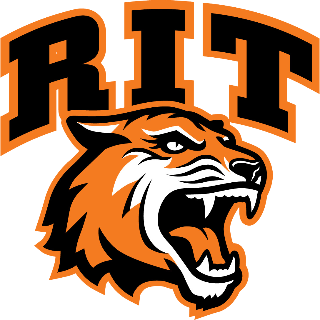 Grinnell tigers football clipart jpg black and white stock Rochester Institute of Technology Baseball Scores, Results, Schedule ... jpg black and white stock