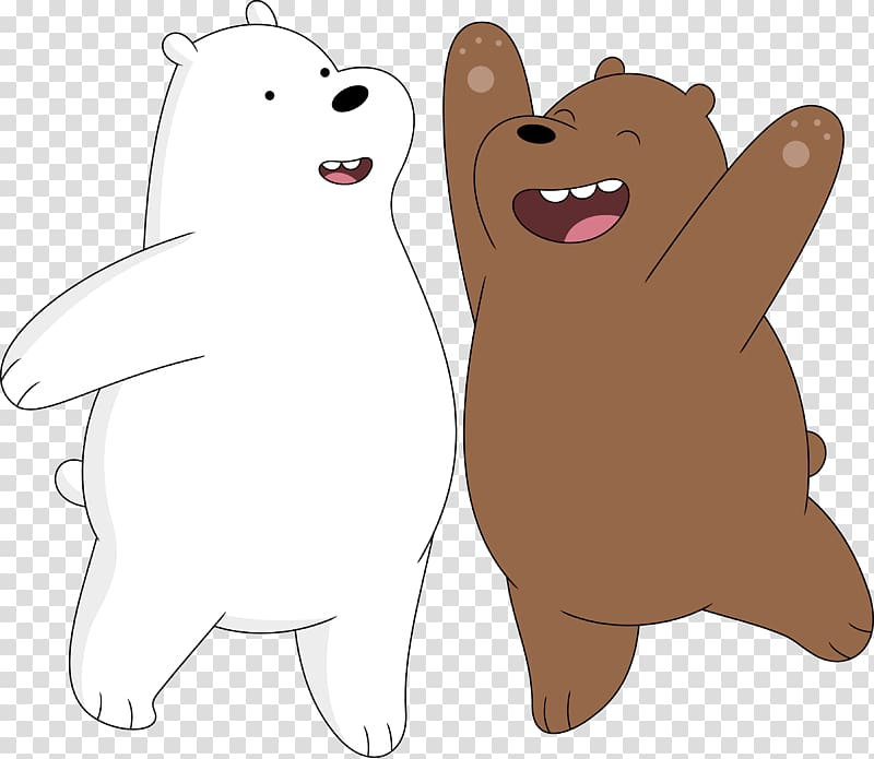 Grizzly bear from we bear bears clipart black and white clip art black and white library We Bare Bears Ice Bear and Grizzly, Bear Art Drawing, chicago bears ... clip art black and white library