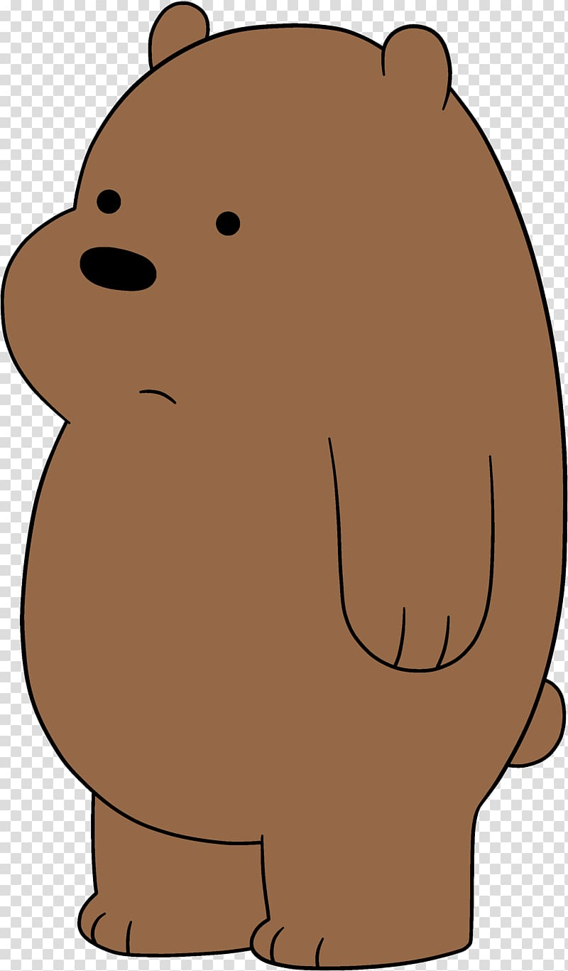 Grizzly bear from we bear bears clipart black and white freeuse library We Bare Bears Grizz, Grizzly bear Baby Grizzly Giant panda Cartoon ... freeuse library