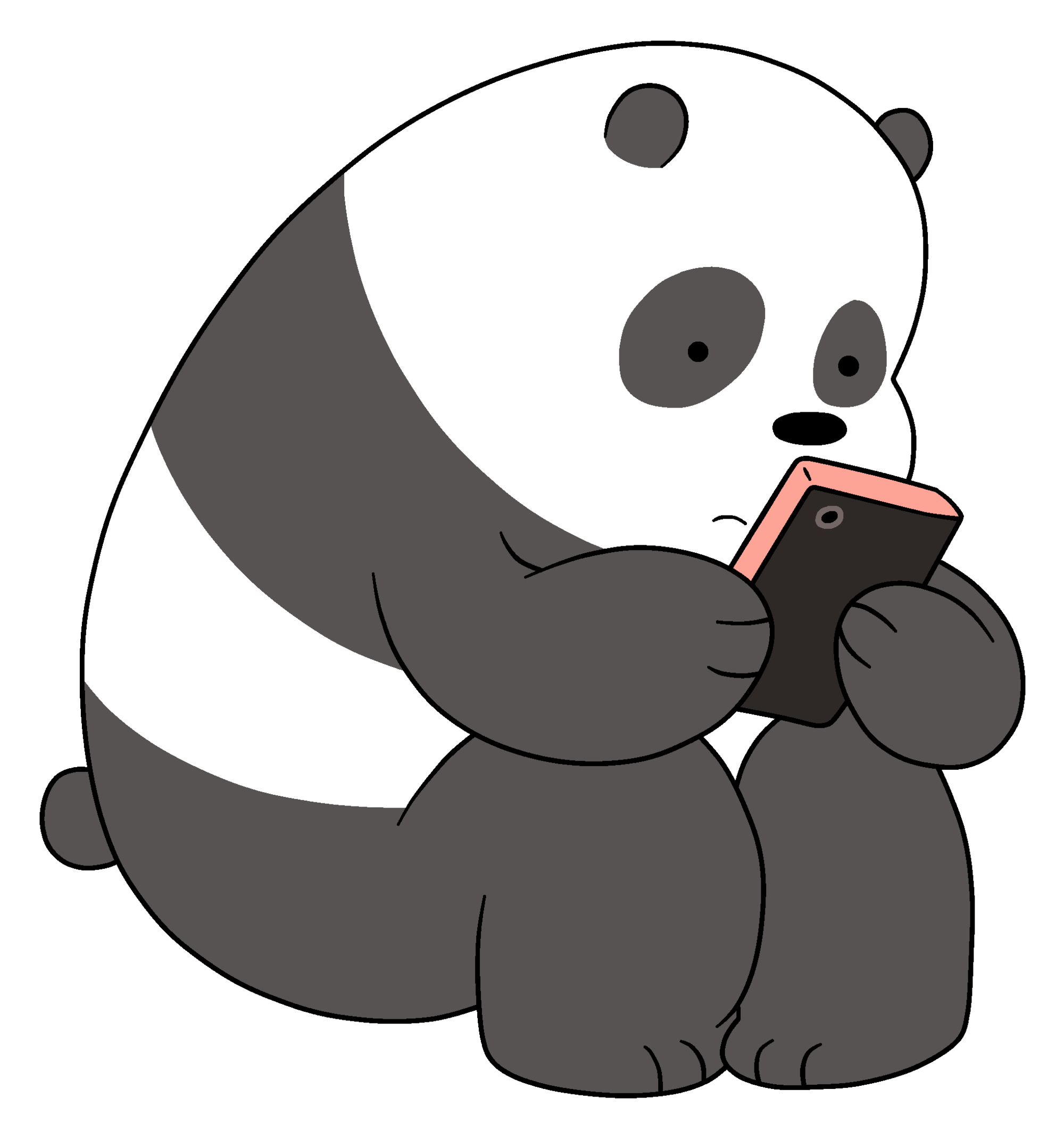 Grizzly bear from we bear bears clipart black and white image freeuse stock Panda Bear | We Bare Bears Wiki | FANDOM powered by Wikia image freeuse stock