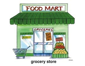 Grocerstore clipart graphic free library 11 Awesome grocery store clipart | Felix bedroom | Clip art, Grocery ... graphic free library