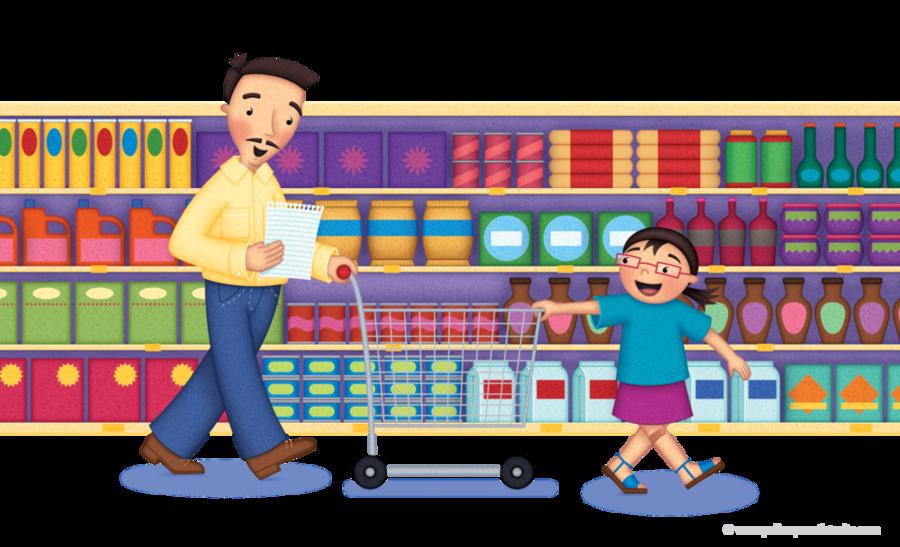 Grocerstore clipart svg transparent Playground Cartoon clipart - Shopping, Supermarket, Food ... svg transparent