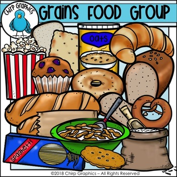 Grocery items clipart clipart library library Grains Food Group Clip Art - Chirp Graphics clipart library library