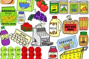 Grocery items clipart picture stock Grocery items clipart 7 » Clipart Portal picture stock
