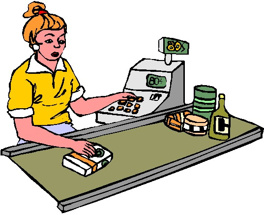 Grocery store clerk clipart transparent Grocery store clerk clipart - ClipartFest transparent
