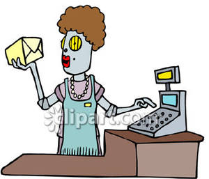 Grocery store clerk clipart image freeuse Talking To A Grocery Clerk Clipart - Clipart Kid image freeuse