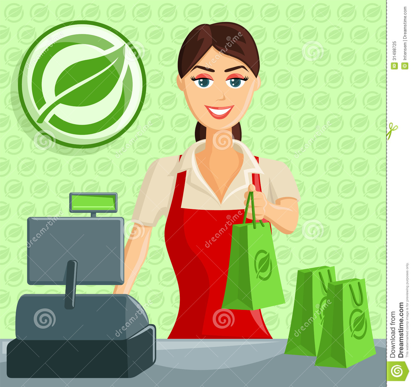 Grocery store clerk clipart graphic royalty free Grocery store clerk clipart - ClipartFest graphic royalty free