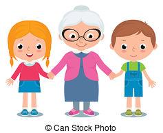 Groeltern und enkel clipart png library Grandchildren Clipart and Stock Illustrations. 419 Grandchildren ... png library