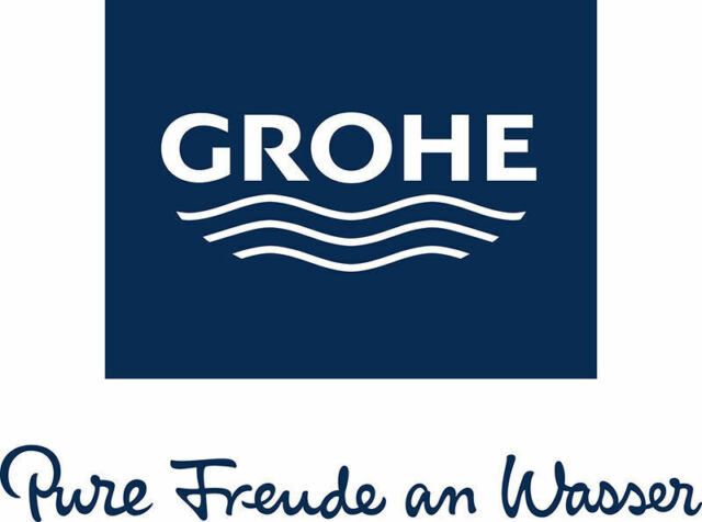 Grohe logo clipart clip black and white GROHE 3855800M   Rapid SL Front Wall Bracket clip black and white
