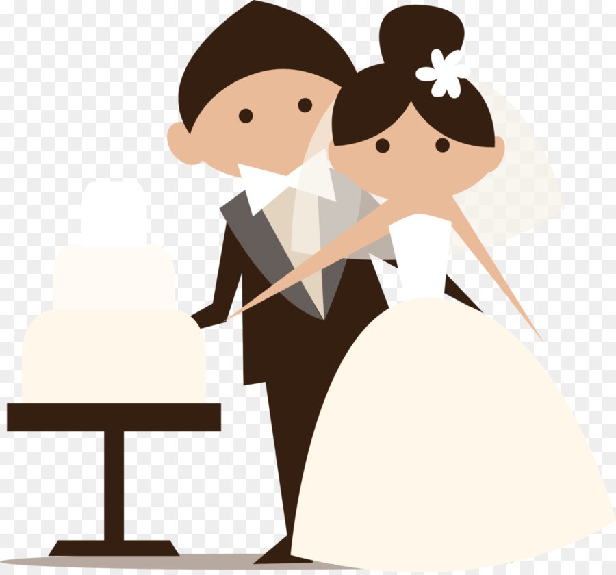 Groom cartoon clipart png freeuse Bride And Groom Cartoon clipart - Bride, Wedding, Marriage ... png freeuse