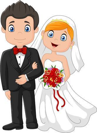 Groom cartoon clipart banner Cartoon bride and groom clipart 3 » Clipart Portal banner