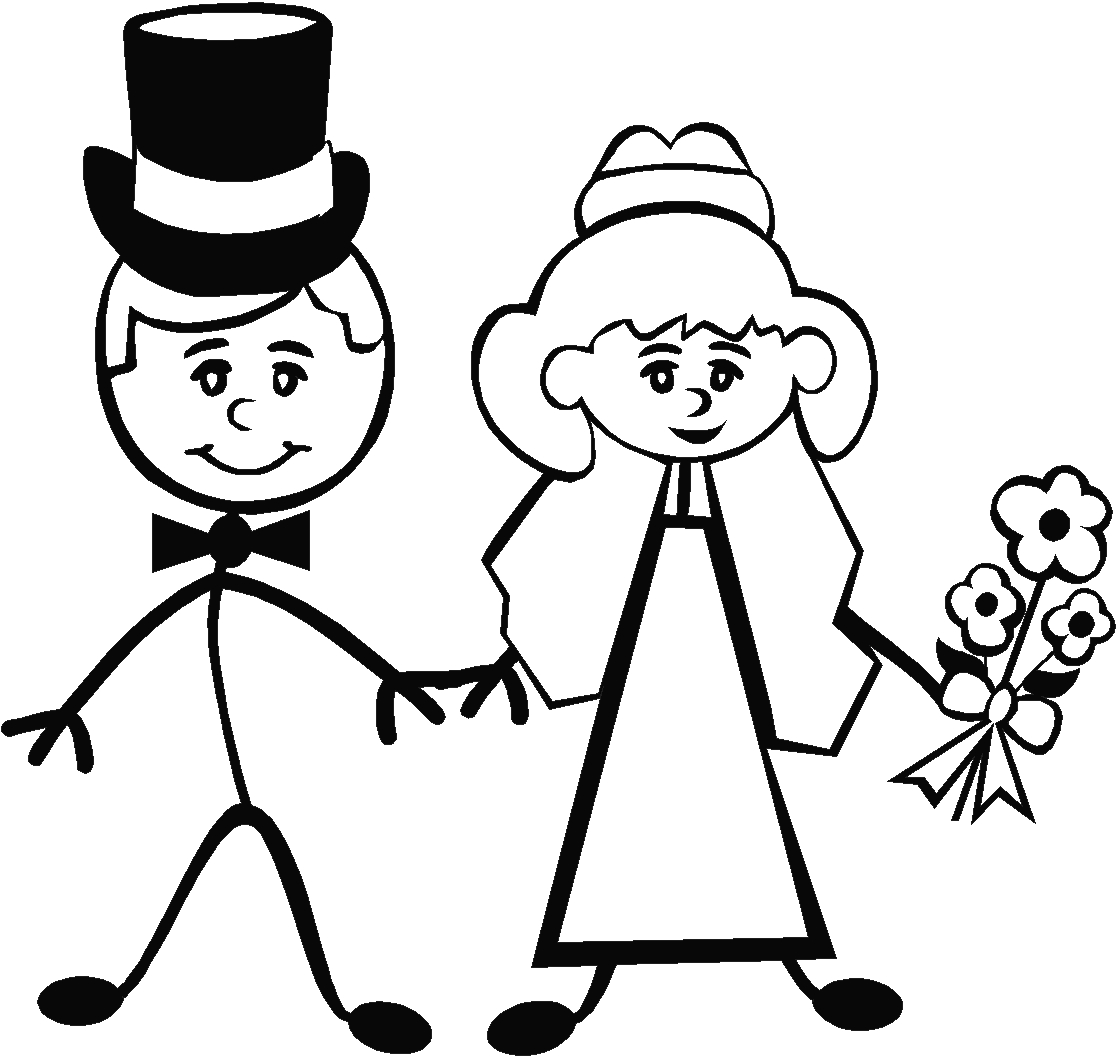 Stick bride and groom clipart graphic library stock Free Bride And Groom Pictures, Download Free Clip Art, Free Clip Art ... graphic library stock