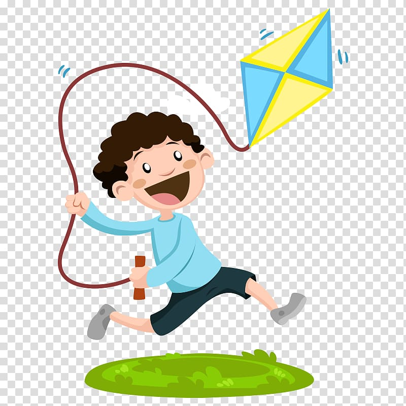 Gross motor clipart graphic royalty free stock Child Gross motor skill Play , Cartoon characters,fly a kite ... graphic royalty free stock