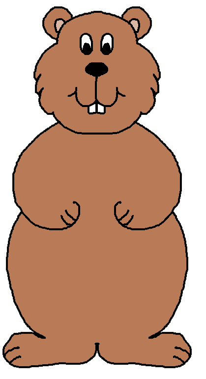 Groundhog clipart with and without shadow clipart black and white Free Groundhog Cliparts, Download Free Clip Art, Free Clip Art on ... clipart black and white