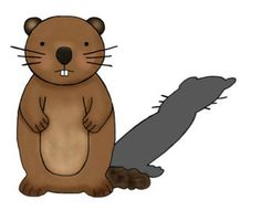 Groundhog clipart with and without shadow jpg download Free Groundhog Cliparts, Download Free Clip Art, Free Clip Art on ... jpg download