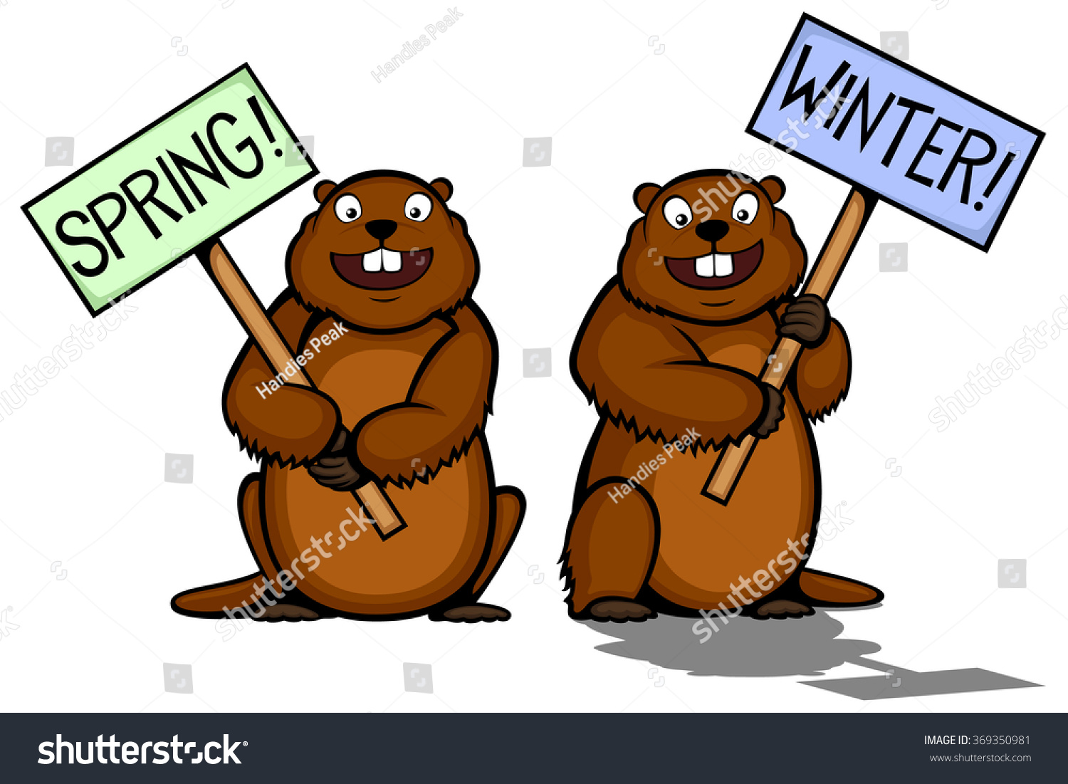 Groundhog clipart with and without shadow clip art royalty free library Groundhog shadow clipart 5 » Clipart Station clip art royalty free library
