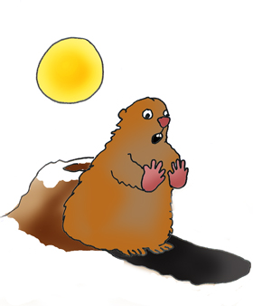 Groundhog clipart with and without shadow graphic royalty free library Free Groundhog Cliparts, Download Free Clip Art, Free Clip Art on ... graphic royalty free library