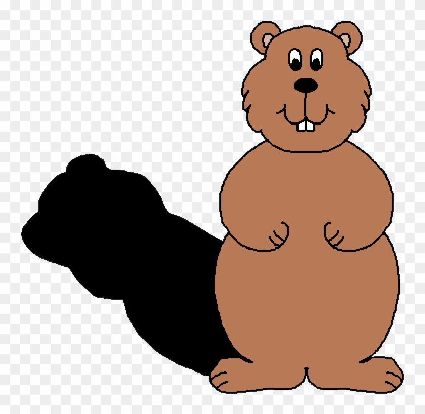 Groundhog clipart with and without shadow clip art royalty free stock Shadow - Groundhog With Shadow Clipart - Free Transparent PNG ... clip art royalty free stock