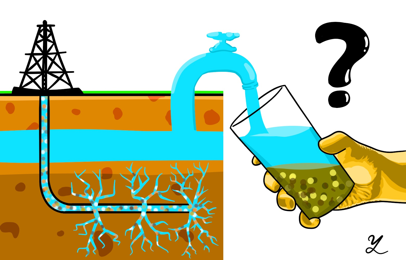 Groundwater pollution clipart graphic royalty free stock Study Links Groundwater Changes to Fracking graphic royalty free stock