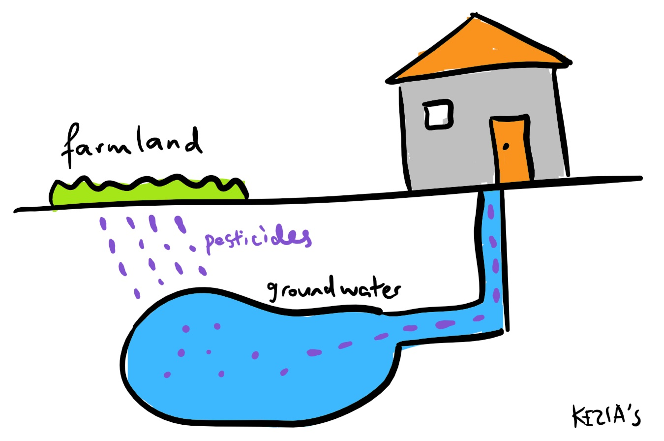 Groundwater pollution clipart vector library library Pesticides: 9 Ways Pesticides Are A Pest vector library library