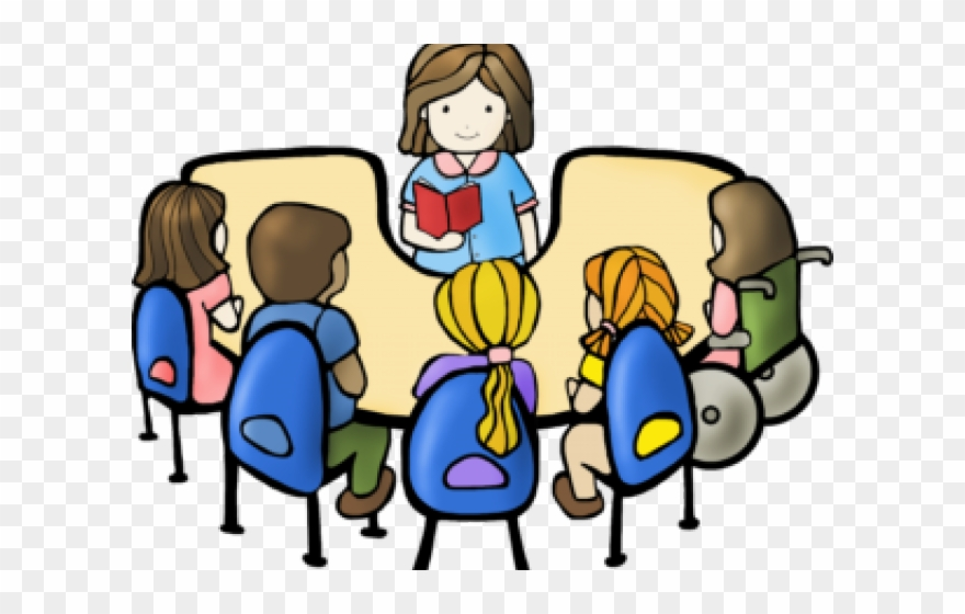 Student group clipart clip art royalty free stock Png Royalty Free Library Group Reading Clipart - Transparent ... clip art royalty free stock