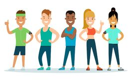 Group exercise clipart vector royalty free stock Group Exercise Cliparts - Making-The-Web.com vector royalty free stock