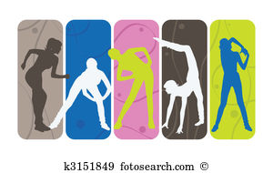 Group fit class clipart jpg library download Group fitness class clipart - ClipartNinja jpg library download