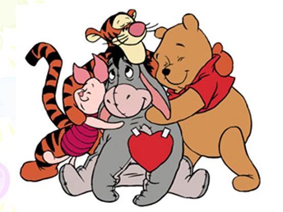 Group hug clipart