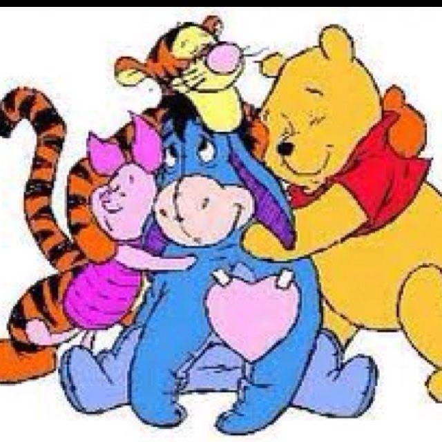 Group hug clipart royalty free Group Hug:) | live, laugh, love | Winnie the pooh, Winnie the pooh ... royalty free