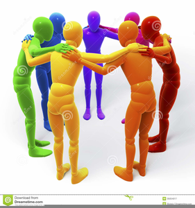 Group hug clipart picture library download Clipart Group Hug | Free Images at Clker.com - vector clip art ... picture library download