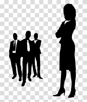 Group of african american women clipart transparent background image freeuse library Silhouette Businessperson , Business Man Silhouette transparent ... image freeuse library