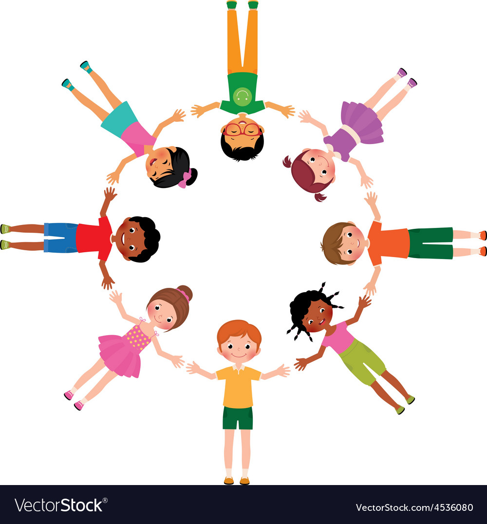 Group of girlfriends in the park clipart svg library library Group of friends boys and girls lying in circle svg library library