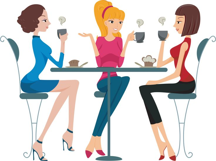 Group of girlfriends in the park clipart clipart royalty free library Free Women Group Cliparts, Download Free Clip Art, Free Clip Art on ... clipart royalty free library