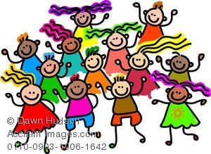 Group of kids clipart picture library download Group Of Kids Clipart | Clipart Panda - Free Clipart Images picture library download